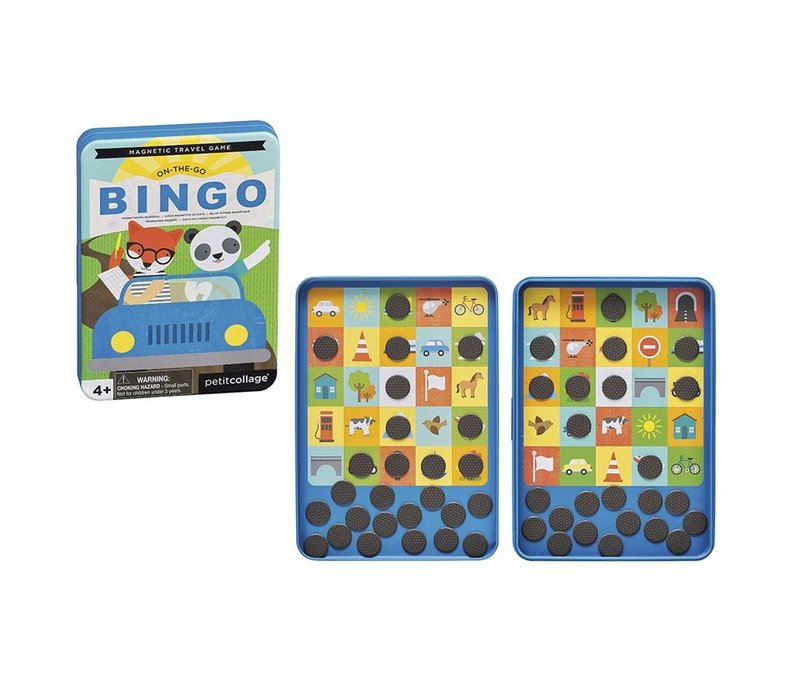 Petit Collage Magnetisch Spel On-The-Go: Bingo