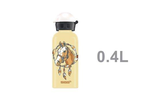 Sigg Sigg Drinkfles Paard Geel 0,4 L