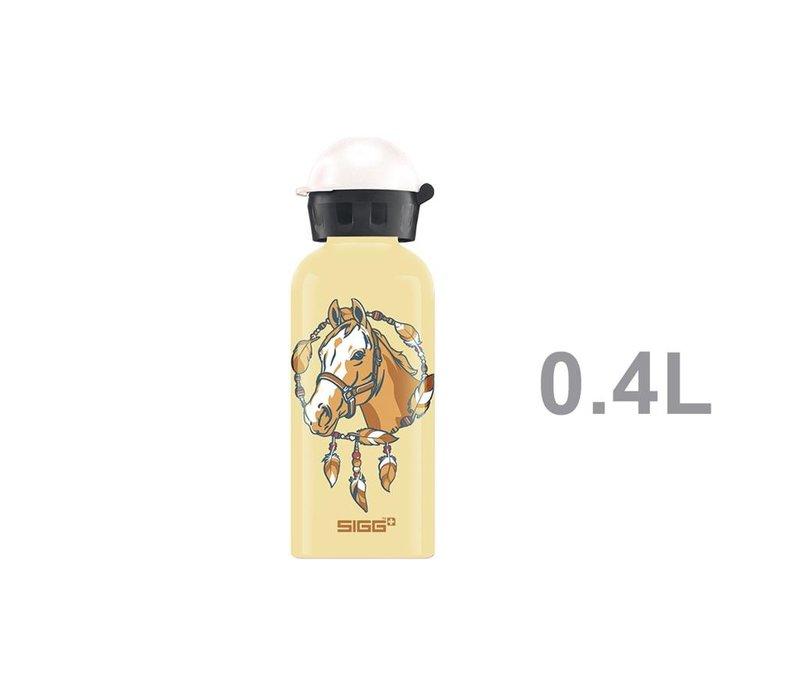Sigg Drinking Bottle Horse Yellow 0,4 L