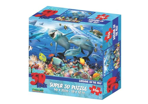 Prime3D Prime 3D Puzzle Sunshine on the Reef 150 pcs