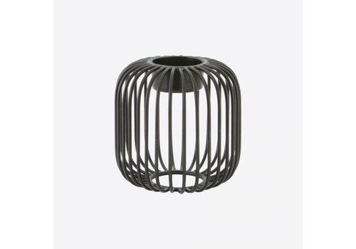 Point-Virgule Point-Virgule Wire Tea Light Holder Black 9,5 cm