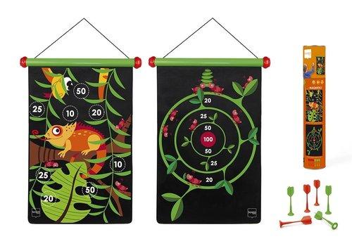 Scratch Scratch  Magnetic Darts Game Jungle