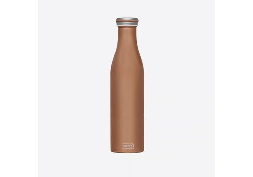 Lurch Lurch Double Insulated Bottle Stainless Steel Bronze Metallic 750 ml