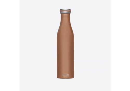 Lurch Lurch Dubbelwandige Isoleerfles RVS Brons-Metallic 750 ml
