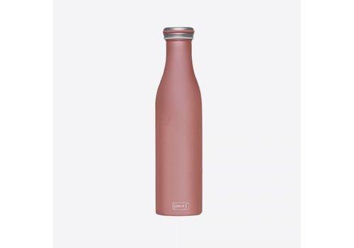 Lurch Lurch Dubbelwandige Isoleerfles RVS Roségoud 750 ml