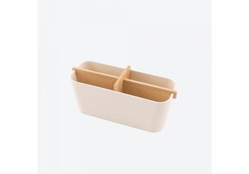 Point-Virgule Point-Virgule Bamboo Fiber Organizer Off-White