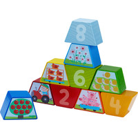 Haba Wooden Arranging Game Numbers Farm