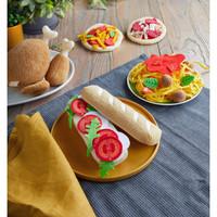 Haba  Belegd Stokbrood in Textiel