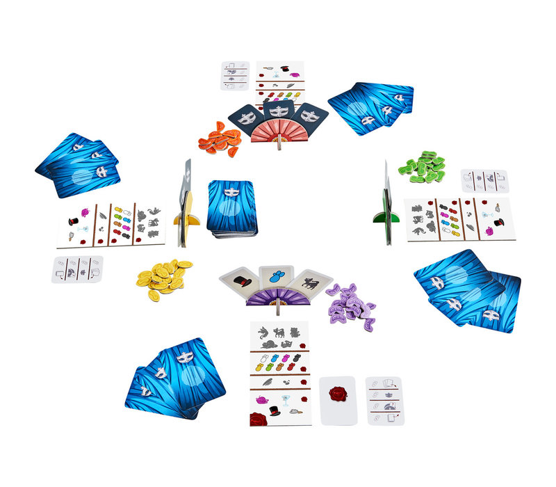 Haba Game Cloaked Cats