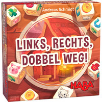 Haba Game Links, Rechts, Dobbel Weg!