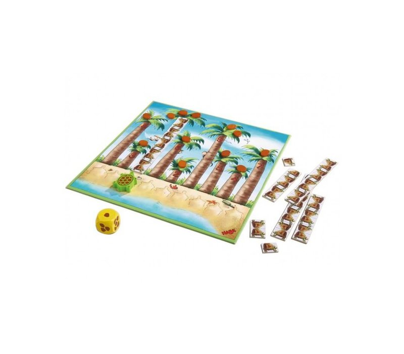 Haba Game My First Educational Play Zoo