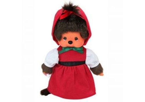 Monchhiichi Monchhichi Red Hood Girl 20 cm