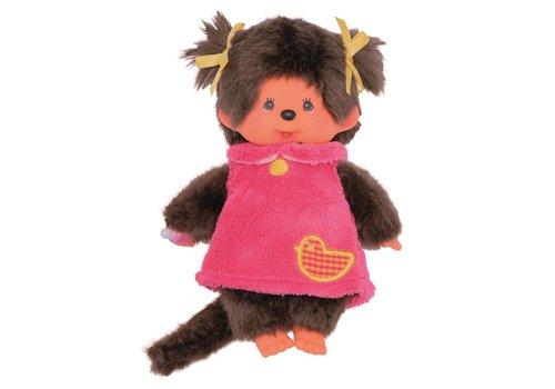 Monchhiichi Monchhichi Pink Fluffy 20 cm