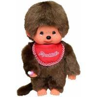 Monchhichi Boy with Red Bib 20 cm