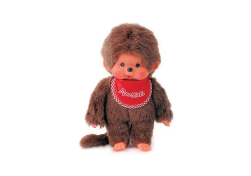 Monchhiichi Monchhichi Boy with Red Bib 20 cm