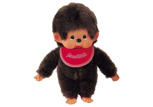 Monchhiichi Monchhichi Boy with Red Bib 45 cm