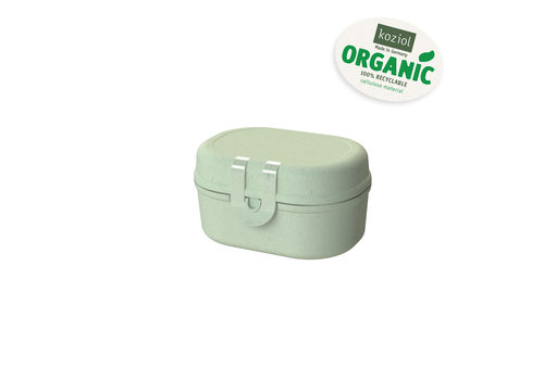 Koziol Koziol Snack Box Pascal Mini Eucalyptus Green