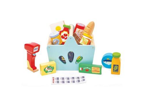 Le Toy Van Le Toy Van Honeybake Gevuld Winkelmandje met Scanner