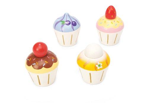 Le Toy Van Le Toy Van Honeybake Cupcakes 4 Stuks