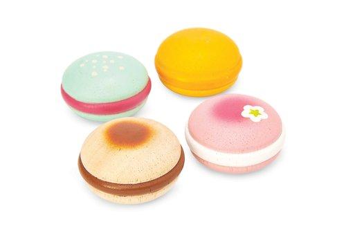 Le Toy Van Le Toy Van Honeybake Macarons 4 Stuks
