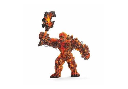 Schleich Schleich Eldrador Lava Golem with Weapon