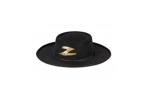 Souza! Souza! Hat Jean-Claude Black with Gold 4-6 Yrs