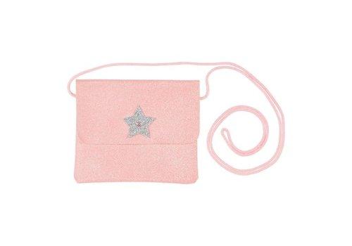 Souza! Souza! Bag Bapke Rose Glitter Silver Star