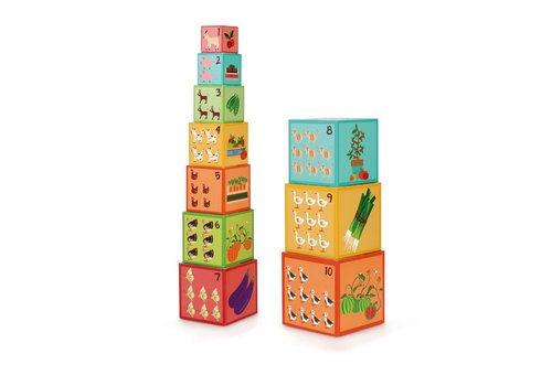 Scratch Scratch Preschool Stacking Tower farm