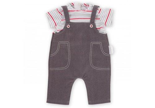 Corolle Corolle T-Shirt & Salopette voor Babypop 36 cm