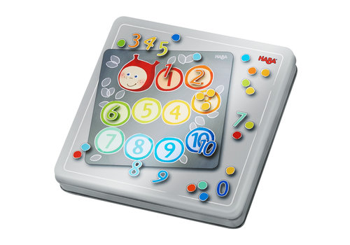 Haba Haba Magnetic Game Box Numbers