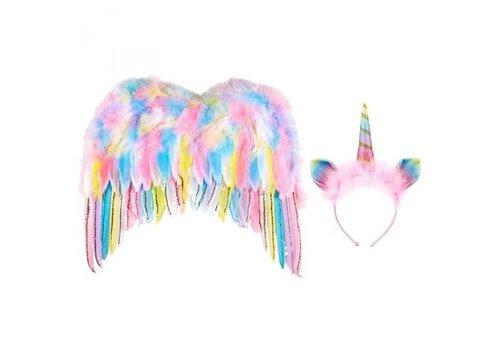 Souza! Souza! Set Unicorn Wings + Diadem