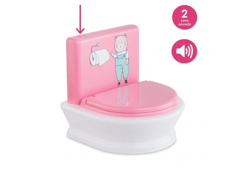 Corolle Corolle Interactief Toilet voor Poppen 30 en 36 cm
