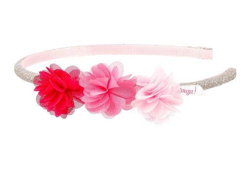 Souza! Souza! Tiara Leyda Flowers Pink