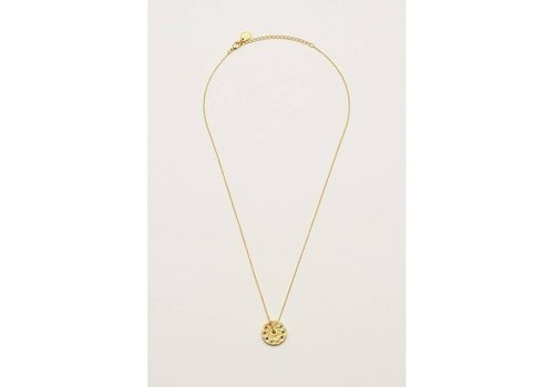 Estella Bartlett Estella Bartlett Kaleidoscope Rainbow Necklace Gold Plated