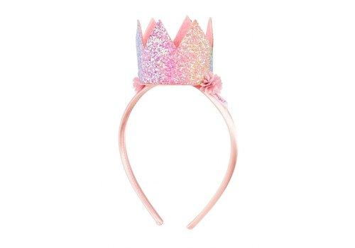 Souza! Souza! Tiara Crown Mignon Rainbow Glitter