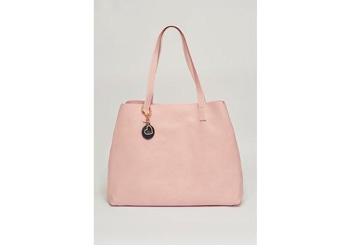 Estella Bartlett Estella Bartlett The Scoresby Wide Tote Bag Blush