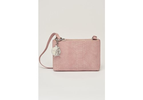 Estella Bartlett Estella Bartlett The Southwark Cross Body Bag Pink Snake