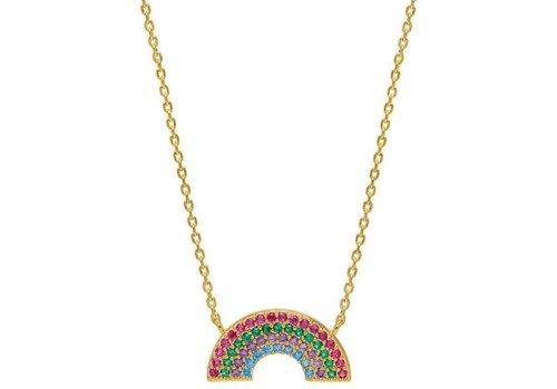 Estella Bartlett Estella Bartlett Full Rainbow Necklace