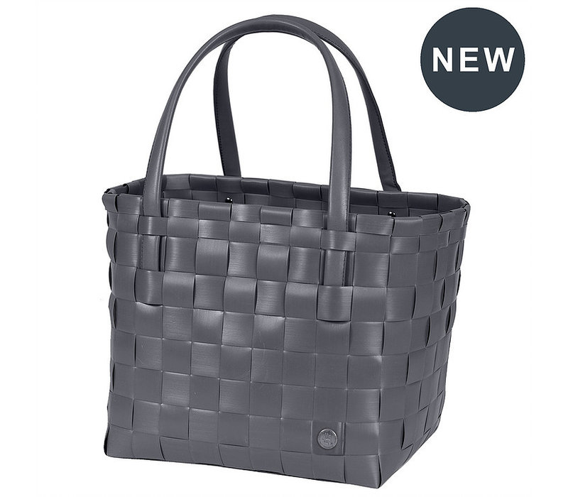 Handed By Color Match Shopper Dark Grey Size S