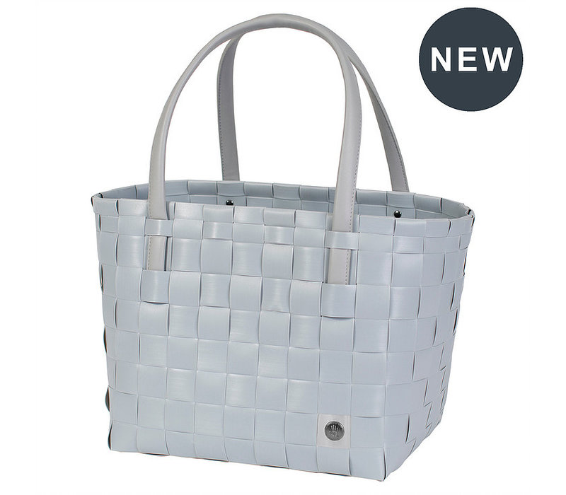 Handed By Color Match Shopper Steel Grey Maat S