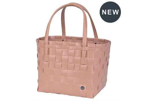 Handed By Handed By Color Match Shopper Copper Blush Maat S