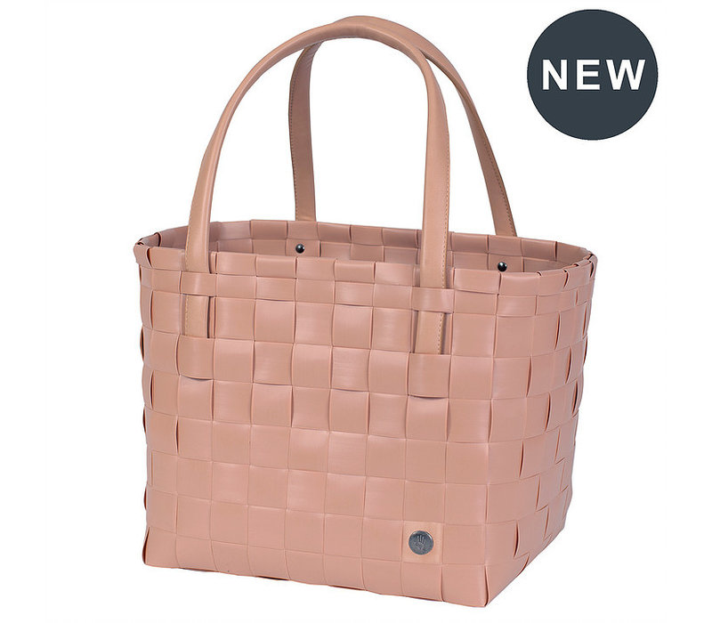 Handed By Color Match Shopper Copper Blush size S
