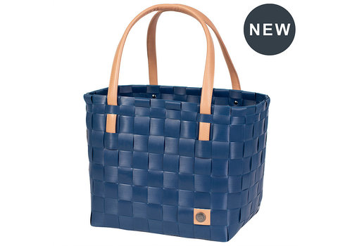 Handed By Handed By Color Block Shopper Ocean Blue size S