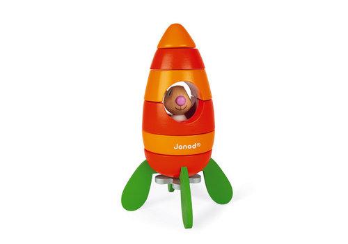 Janod Janod Magnetic Carrot Rocket