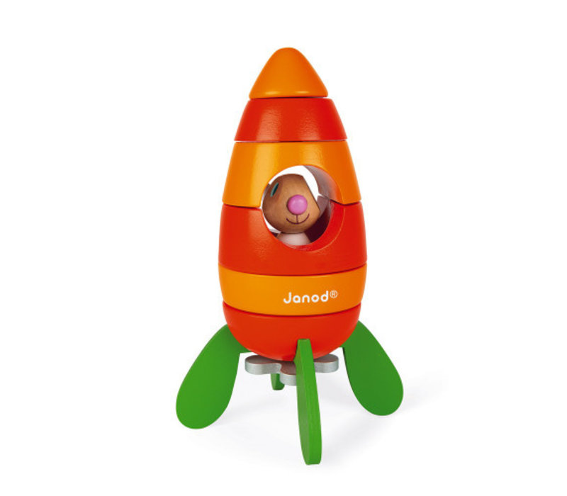 Janod Magnetic Carrot Rocket