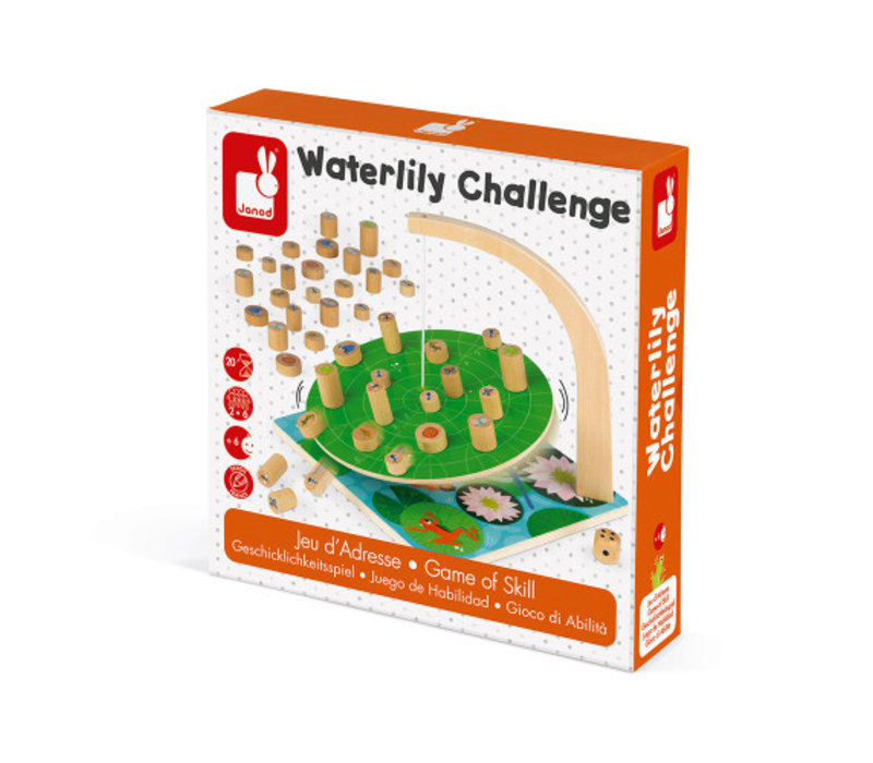 Janod  Waterlelie Challenge Behendigheidsspel