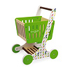 Janod Janod Green Market Shopping Trolley in Wood