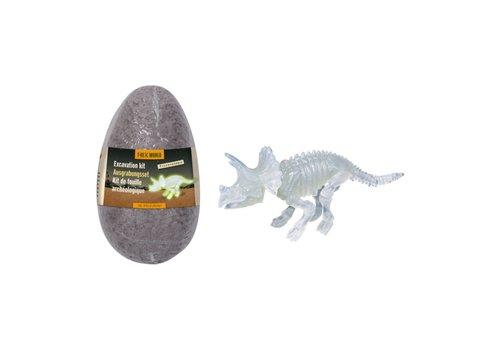Die Spiegelburg T-Rex World Triceratops Uitgraafset