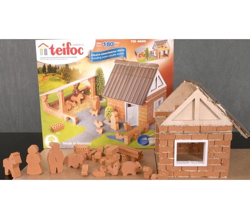 Teifoc Building Kit Farm