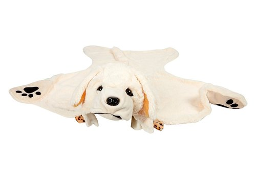 Souza! Souza! Labrador Costume Outfit and Blanket Off White